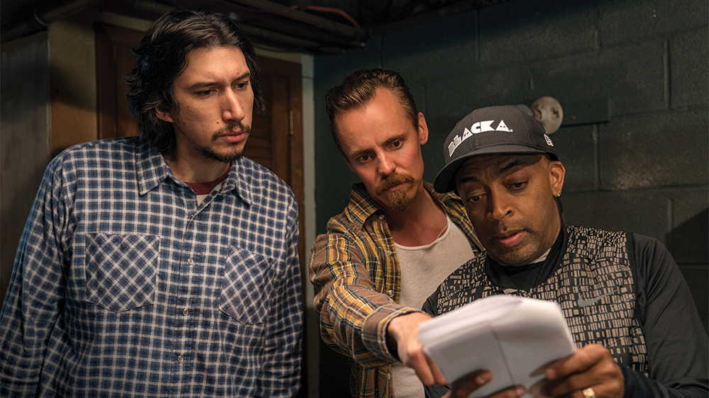 Jasper on set with Spike Lee & Adam Driver.