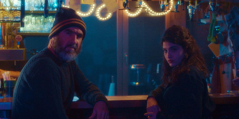 "Manal Issa & Eric Cantona in ""Ulysses & Mona"""