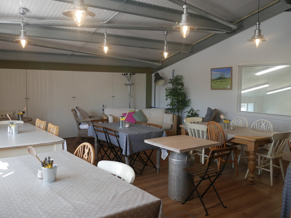 Mezzanine  - Looking for somewhere to host an intimate corporate or private event? We have a lovely mezzanine area that overlooks the main cheese making room. Our mezzanine can hold up to 30 guests seated in a variety of layouts. For information on our prices and packages please contact us today.