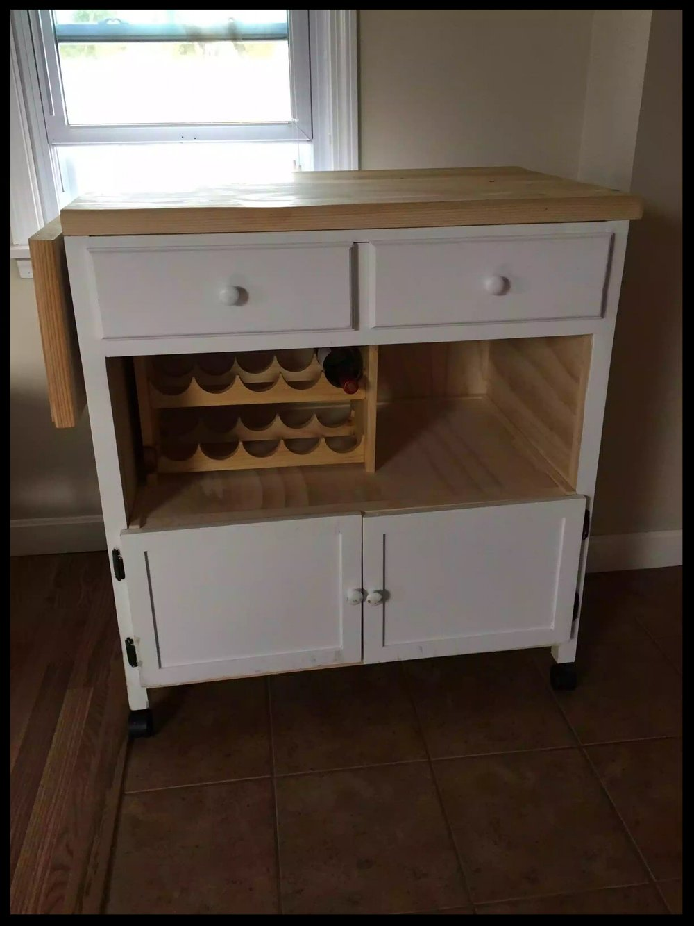 Finished Kitchen Island