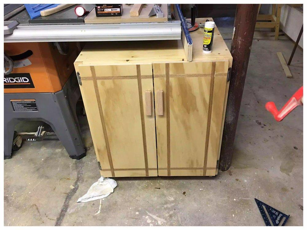 Oak Inslay Doors