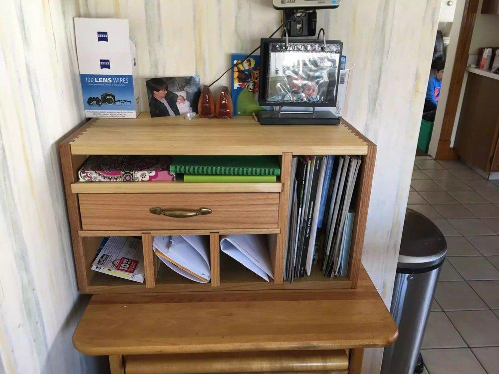 Organiser all stocked up