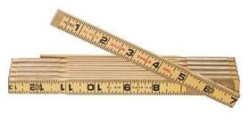 4 Fold Wooden Ruler