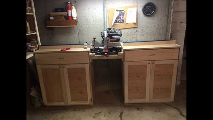 Dedicated Miter Saw Station