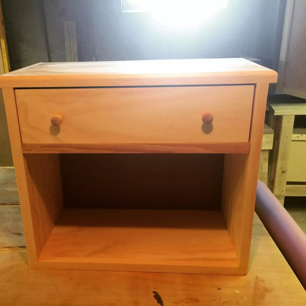 Completed Bedside Unit for my son