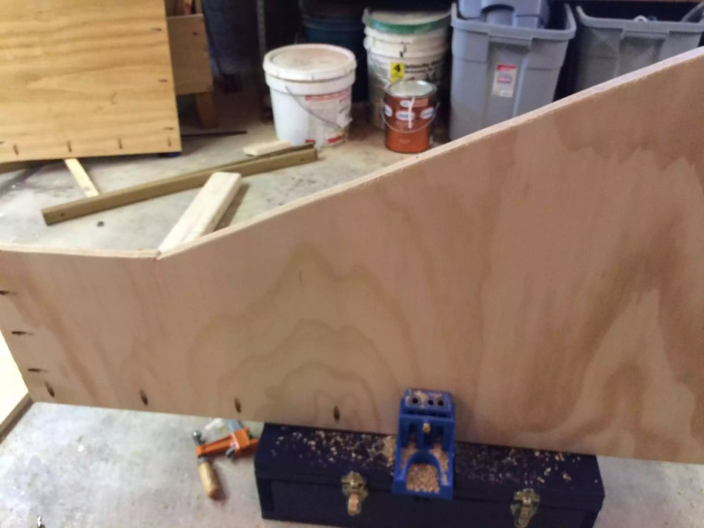 I used pocket hole joinery on this project