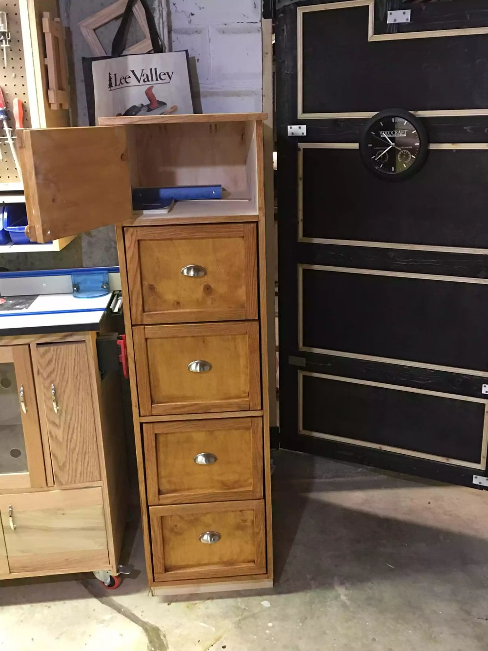 Completed Filing Cabinet