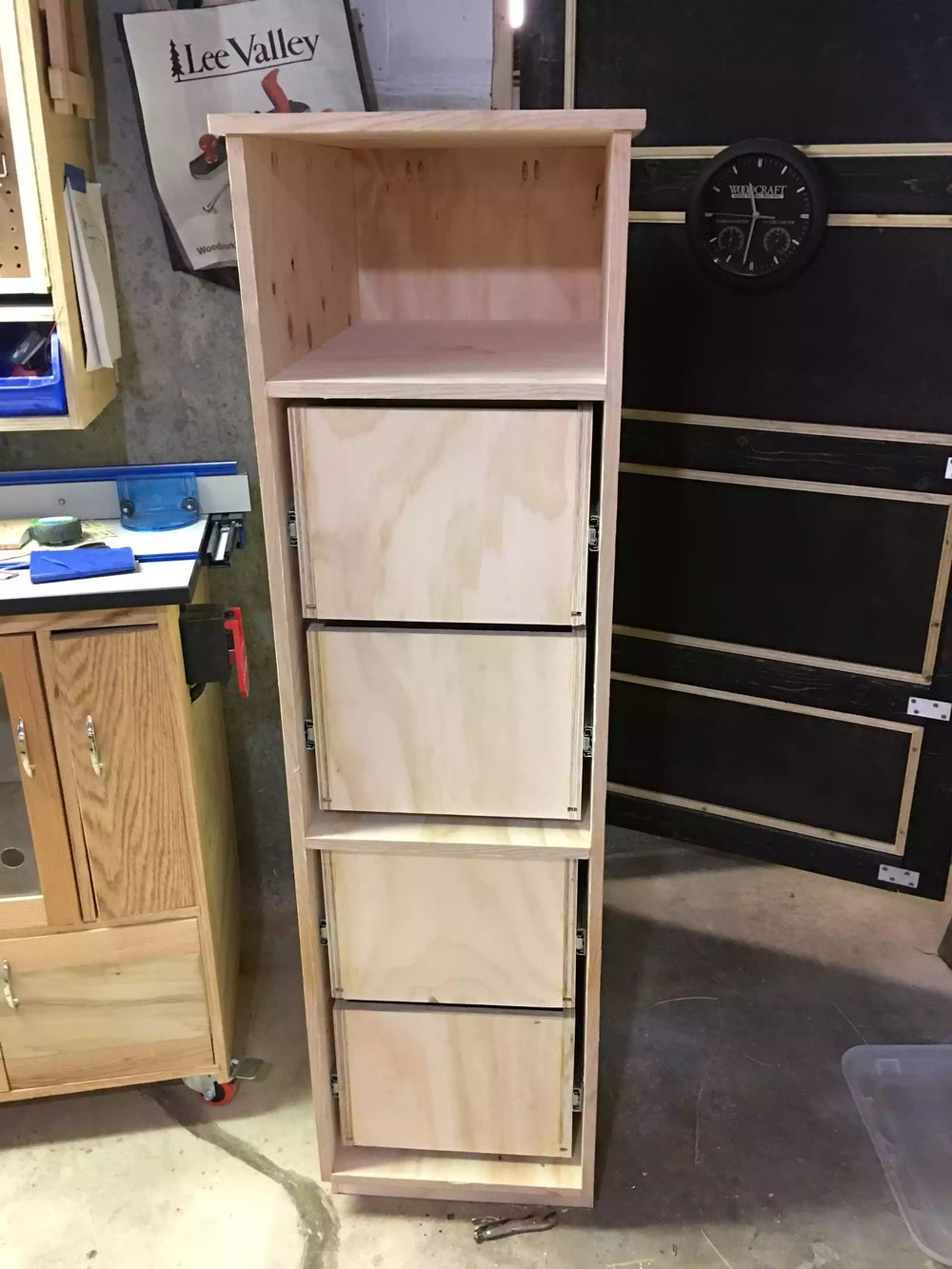 Cabinet almost complete