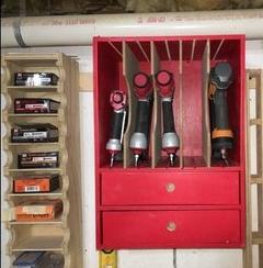 Nail Gun Storage Unit