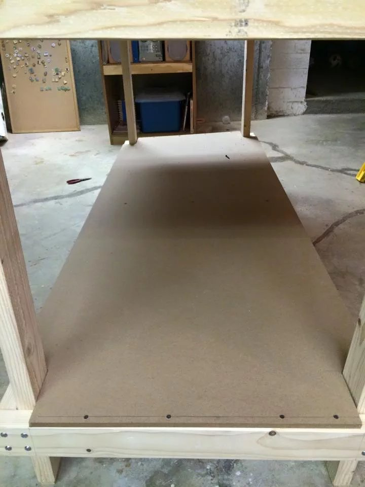 MDF Bottom shelf