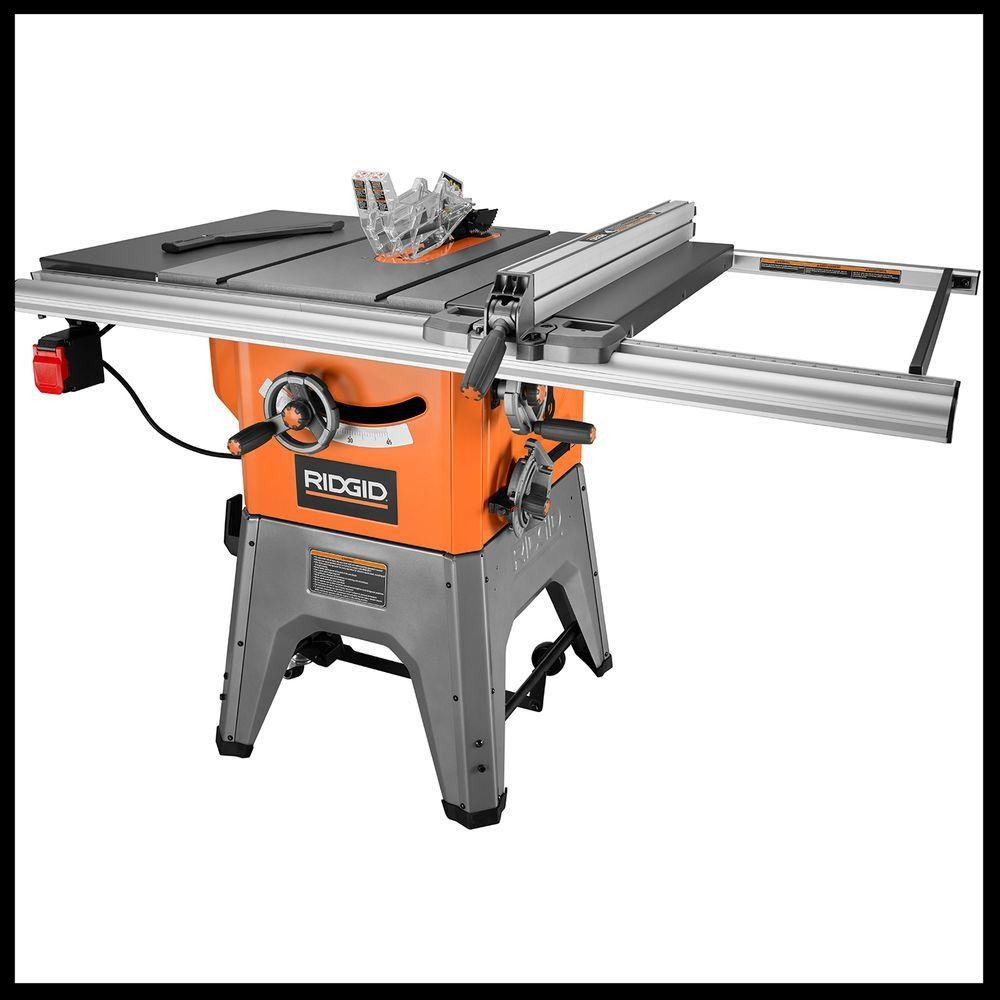 My Ridgid Tablesaw