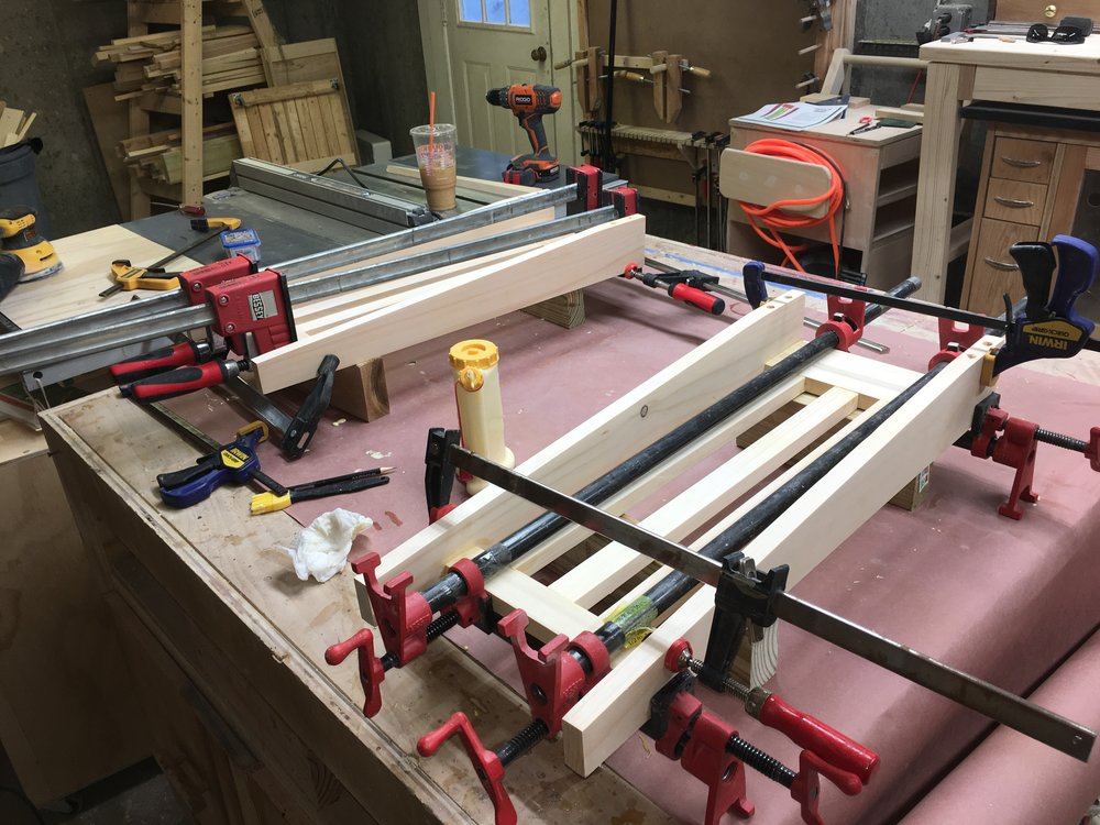 The Sides Glue-Up