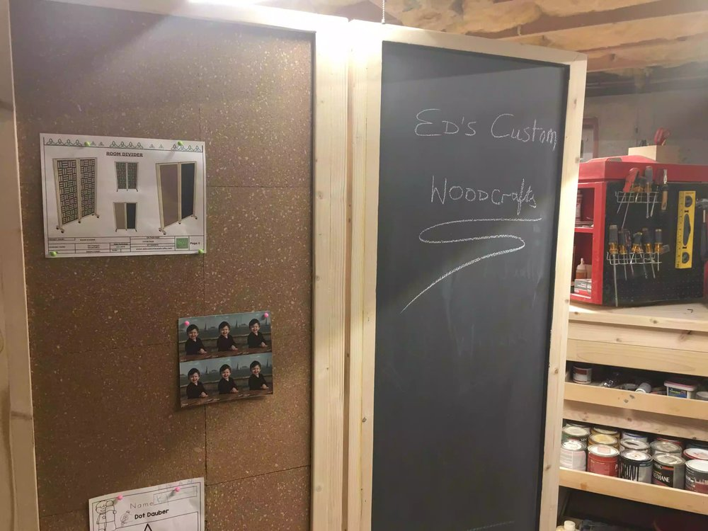 Chalk board looks great