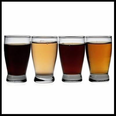 Here is a stock photo of the type of glass I purchased, they are called. Oneida 93013A - Beer Taster, 5 Oz, Barbary. They can be purchased here