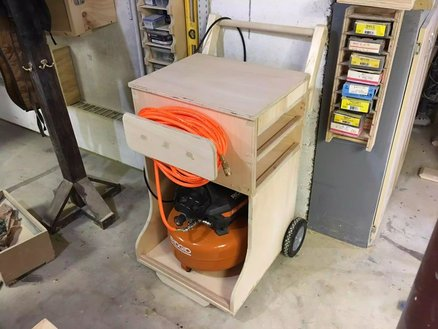 AIR COMPRESSOR CART - ADDITIONAL INFORMATION