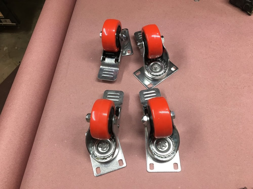 "3"" casters"