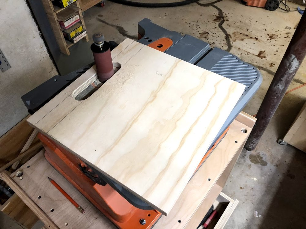 I love every chance I get to use this awesome tool, my oscillating spindle sander isn't used every day but I am so glad I have it when it comes to sanding curves, nothing better.