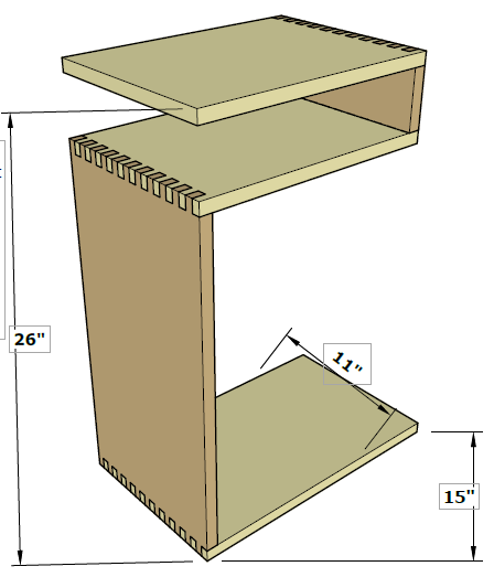 Here are the dimensions of the table.