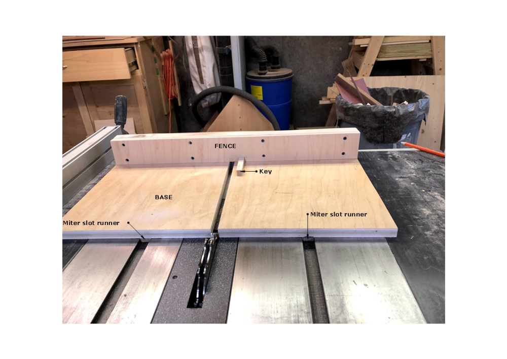 Here is the box joint jig that I made for my table saw