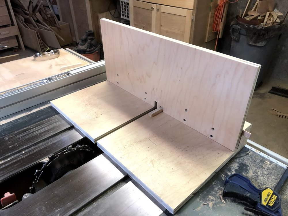 Home Made Box Joint Jig