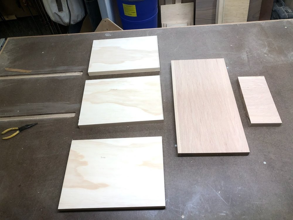 Only 5 parts to make this table