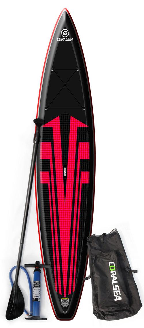 12'6 Vivacity Cruiser (Red)