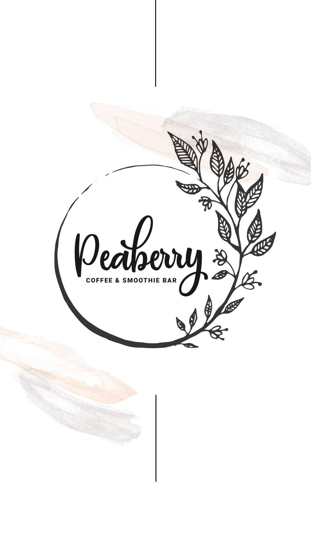 Peaberry press logo design.jpg