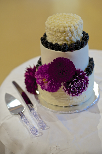 Multi-tiered wedding cakes are our specialty