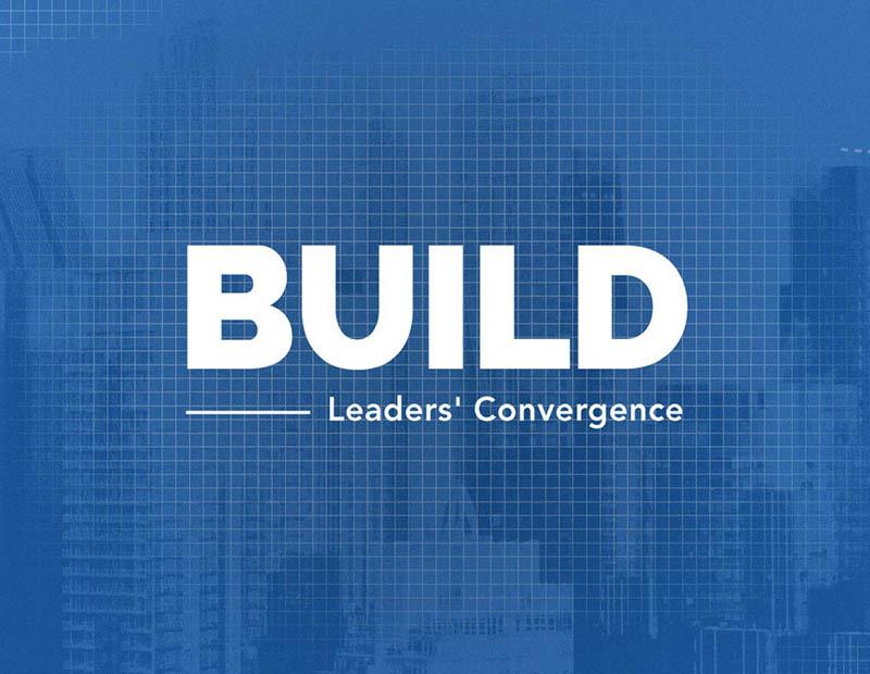 Build: Leaders' Convergence - Logo and Presentation Design