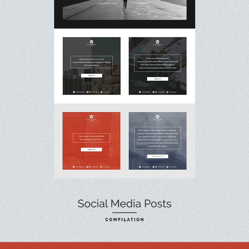 Social Media Posts Compilation