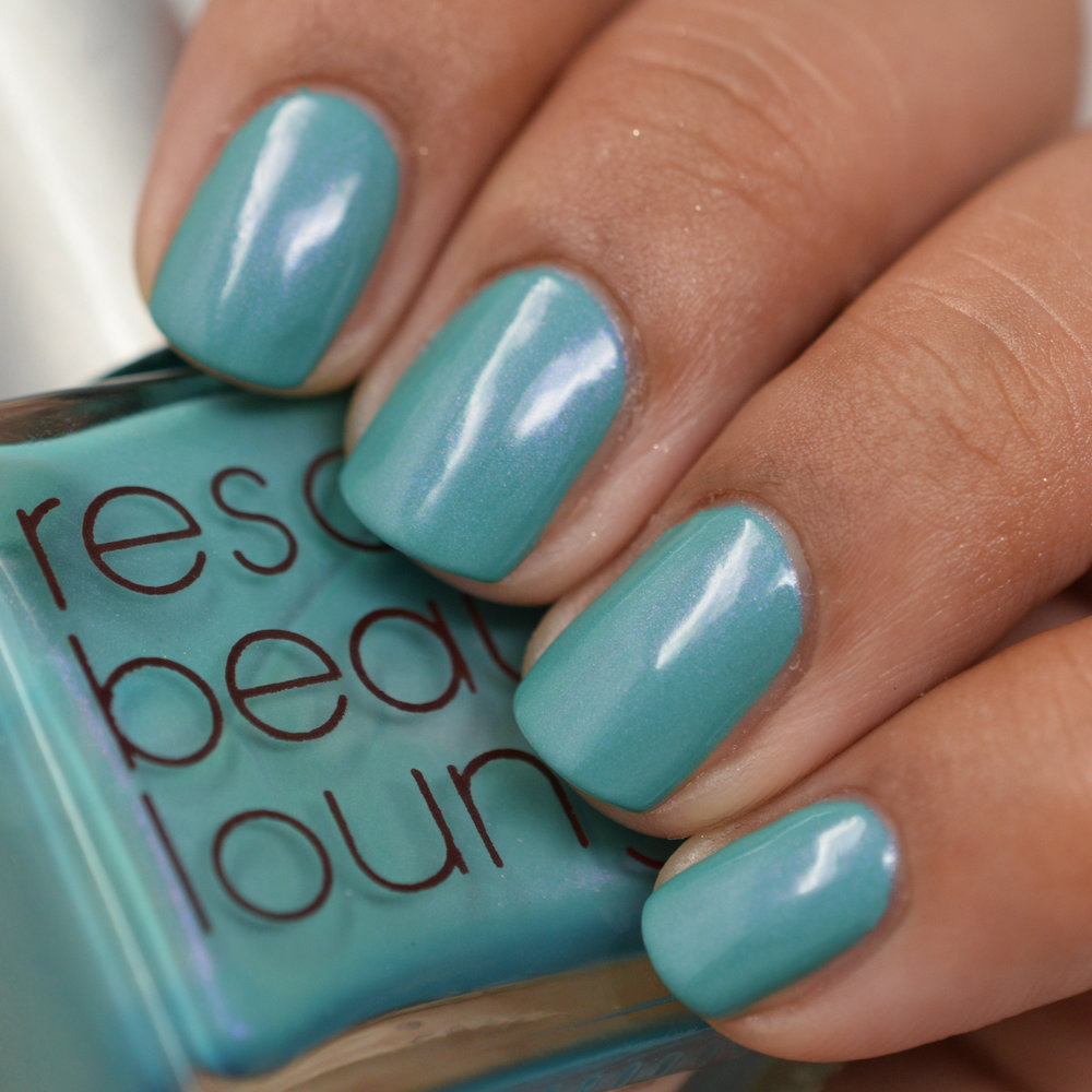 Rescue Beauty Lounge Fan Collection Spring 2012 - Aqua Lily.jpg