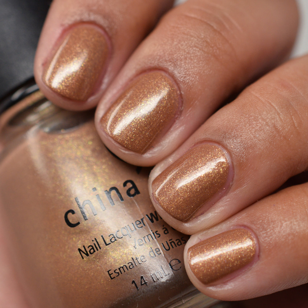 China Glaze Rodeo Diva Fall 2008 - Golden Spurs.jpg