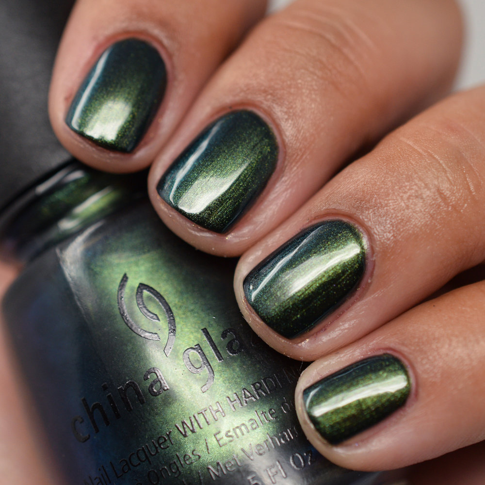 China Glaze Rodeo Diva Fall 2008 - Gussied Up Green.jpg