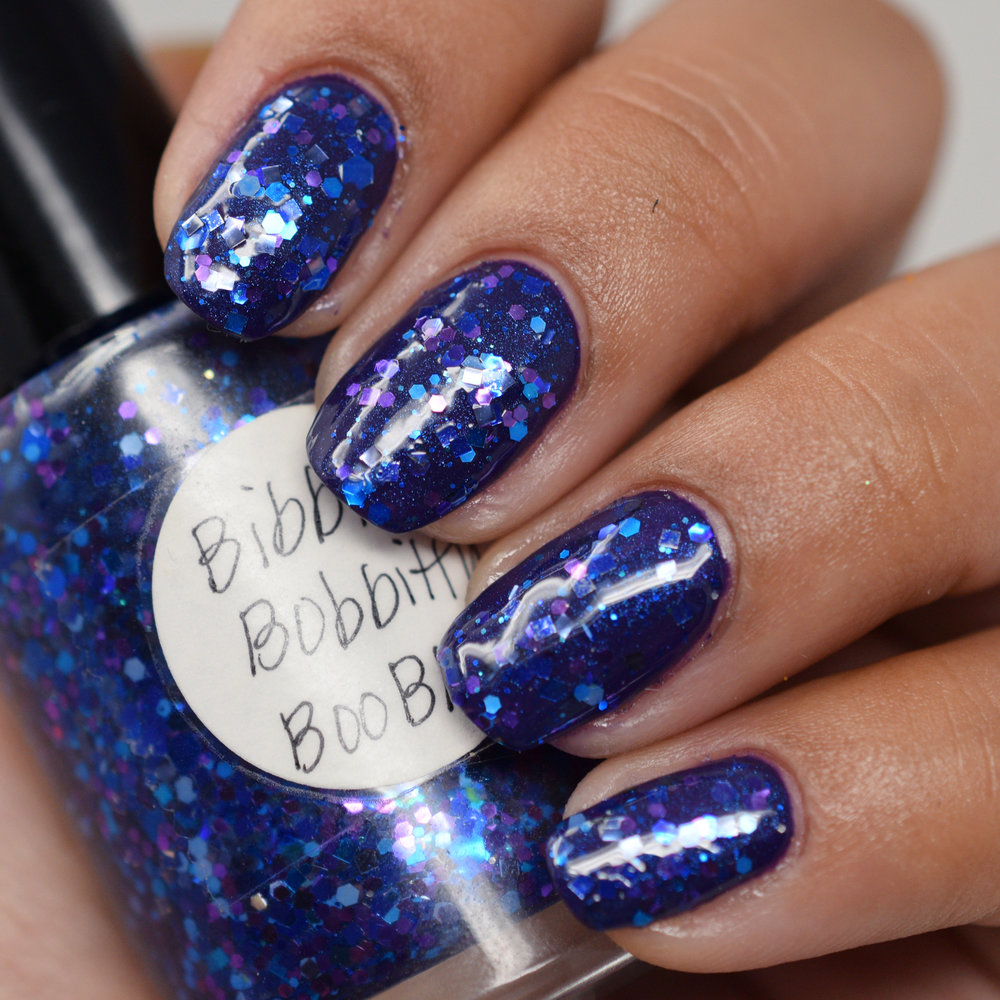 Bibbitty Bobbitty Boo Blue over Sapphire In The Snow.jpg