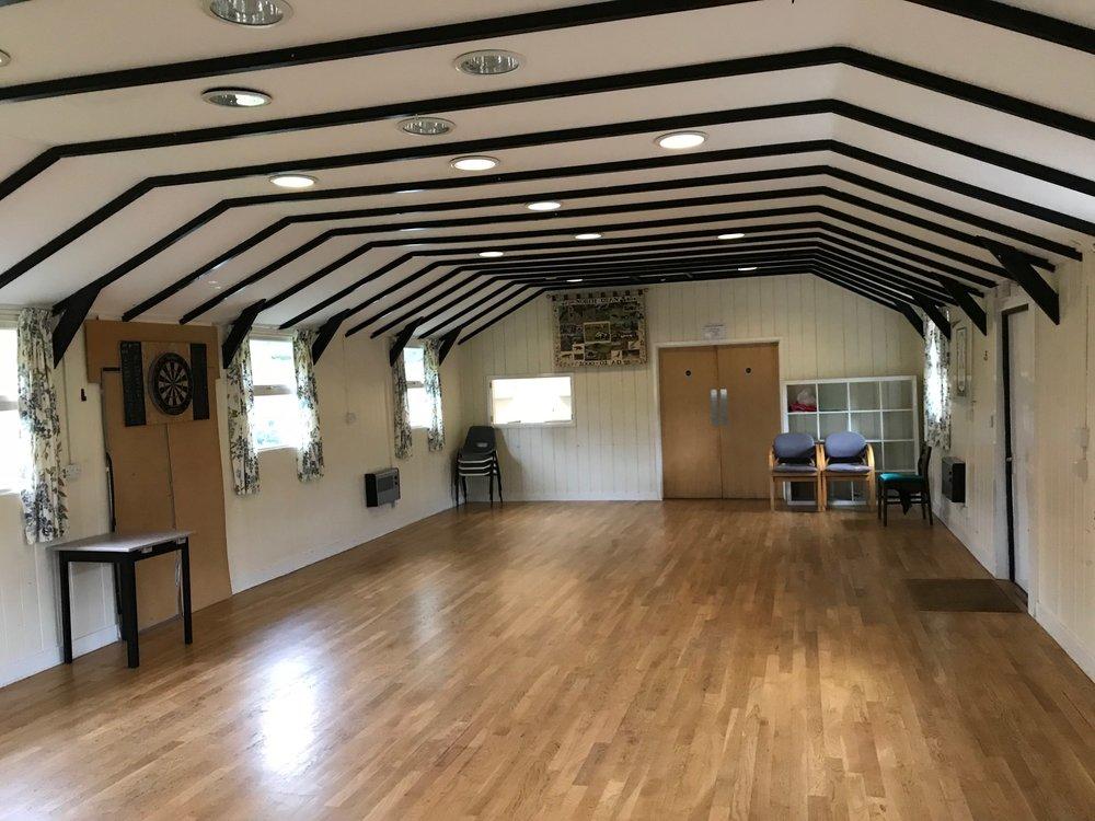 Flexible and spacious interior room