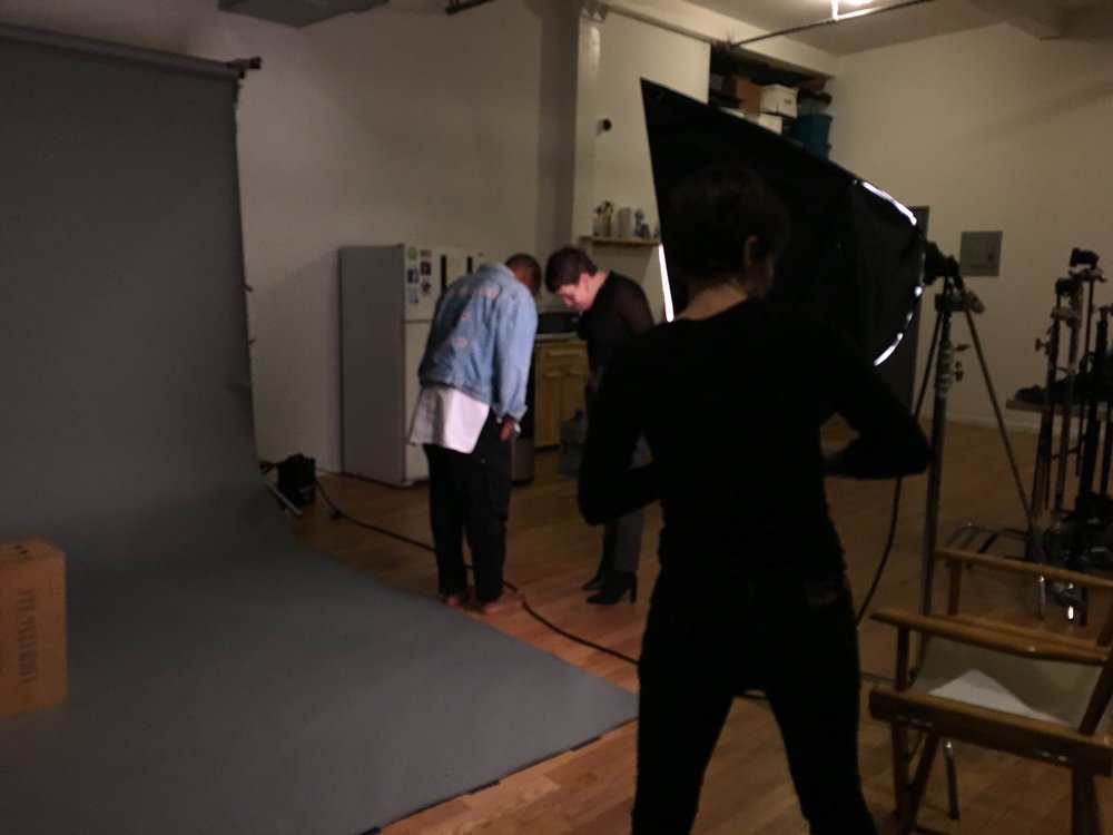 short film title is Language Is Dead - Film & Photo studio Brooklyn NYC