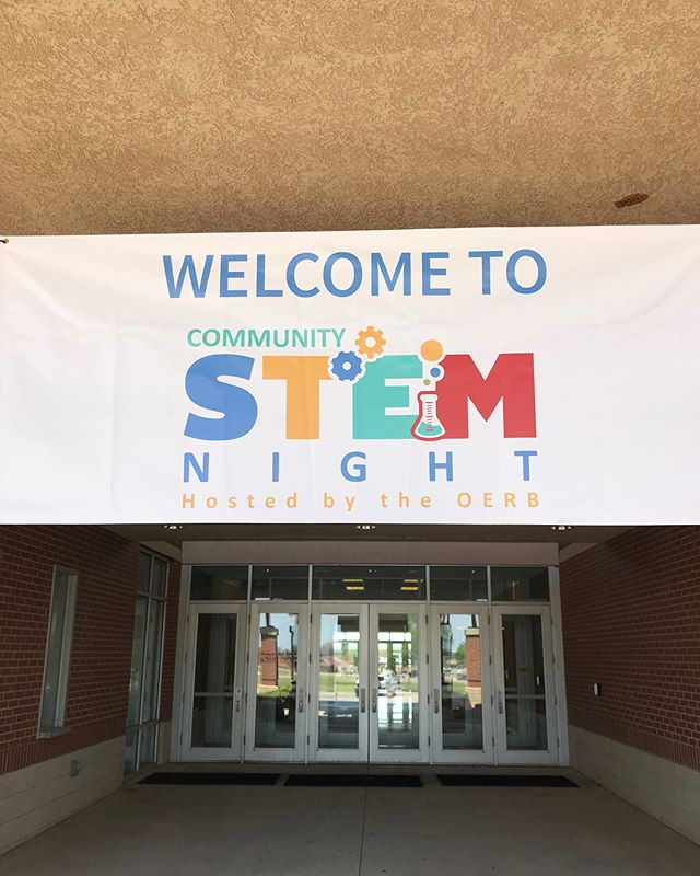 Bison proudly supports & sponsors Community STEM Nights hosted by @oerbok 🔋👩🏼‍🔬🔬😁👍🏼 #GoBison