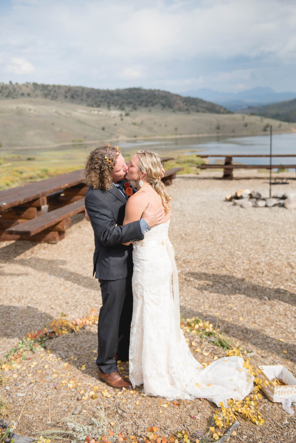 C Lazy U Ranch in Colorado Mountain Wedding Photographer