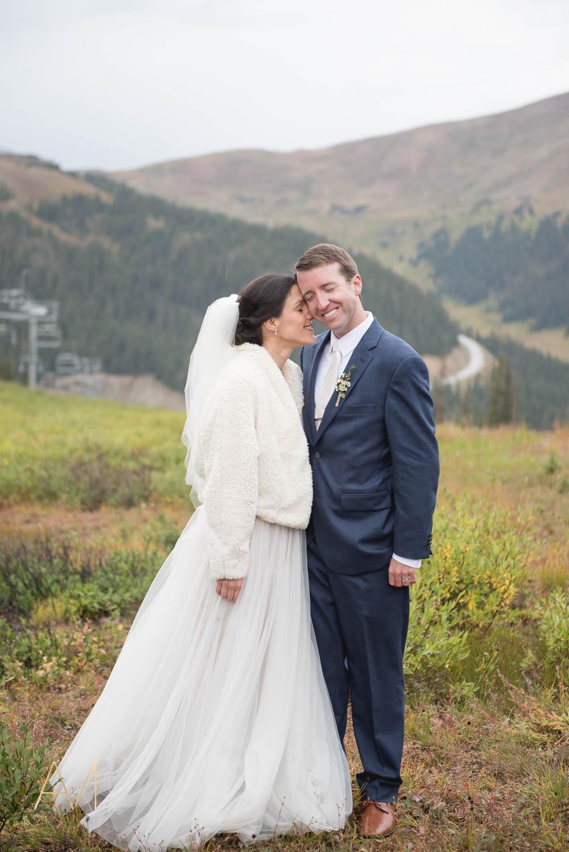 Adventous Mountain Wedding Photographer at Arapahoe Basin in Keystone, Colorado