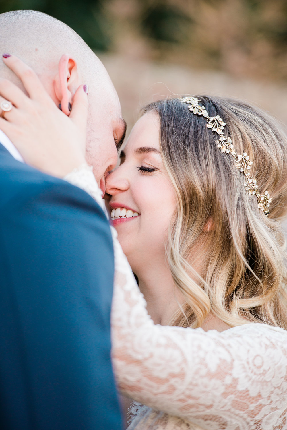 Every bride wantstomake sure she's gotthat newlywed glow on her wedding day. -