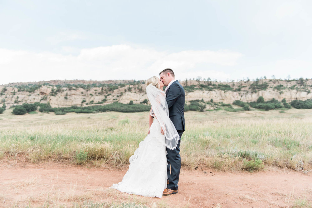 South Valley Park Bride and Groom Portrait Photography