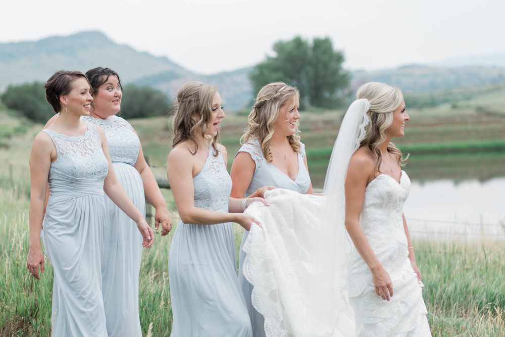 South Valley Park Wedding Party Photography