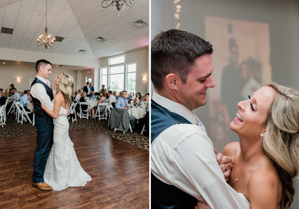 Colorado First Dance Wedding Reception Details Photography at Wedgewood