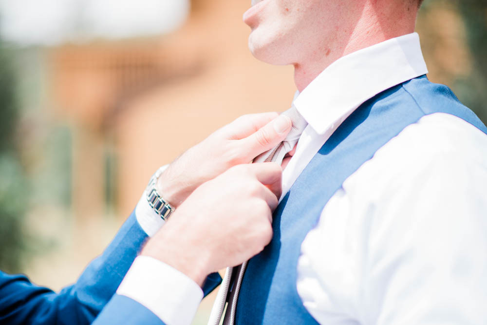 Fine Art Photographs of Groom getting Ready