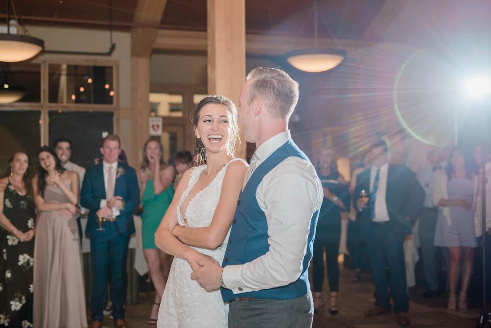 High Alpine Mountain Wedding Reception Dances
