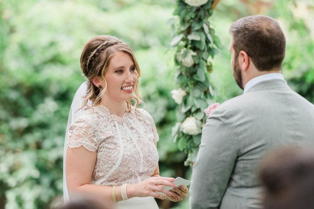 Intimate Boulder Colorado Wedding Ceremony