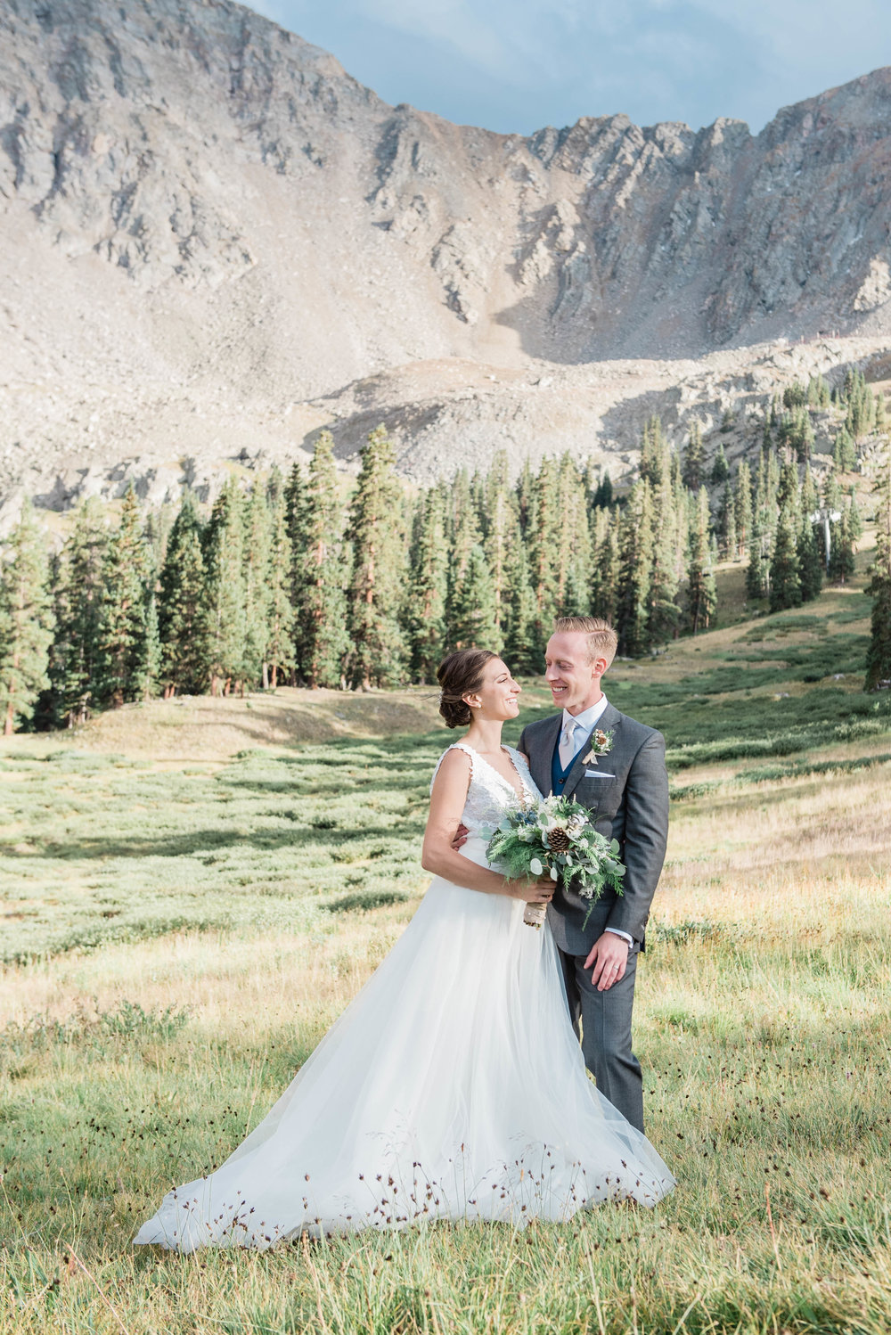 High Alpinemountain Wedding - Katie & Ryan