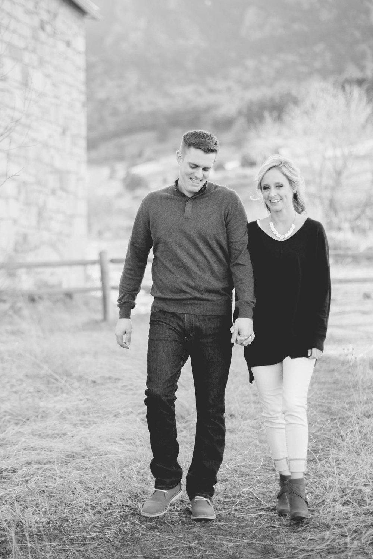 Springtime Boulder Engagement - Amber & David