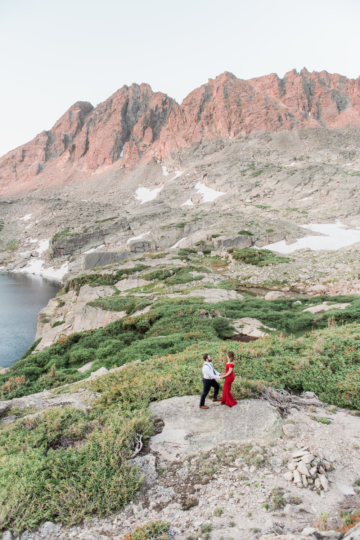 Indian Peaks Wilderness Engagement - Aubre & Amer