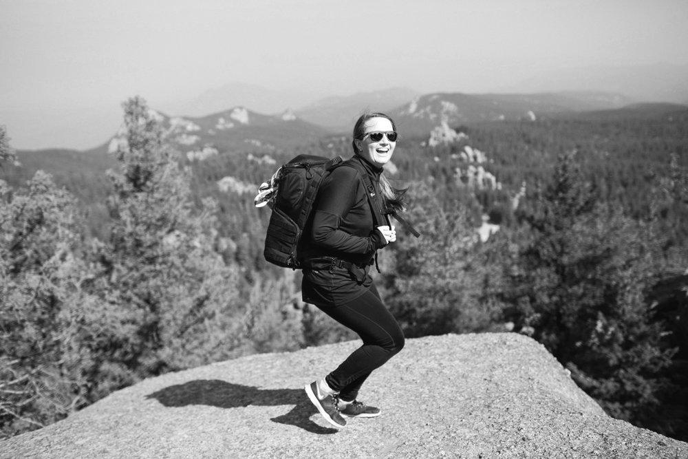Let's get you hitchedon a mountain top! -